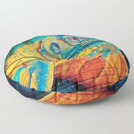 Lizard King Floor Pillow