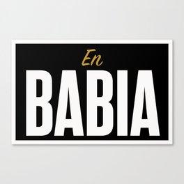 En Babia Canvas Print