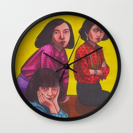 Early Knife Wall Clock