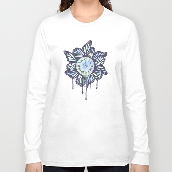 Never Let Go (A Study of Time) Long Sleeve T-shirt