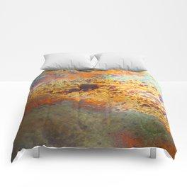 Oil Slick Wall Comforters