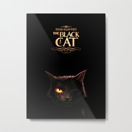 EAPoe's The Black Cat Metal Print