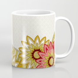 garden fox linen Coffee Mug