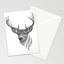 Deer of Yggdrasil  Stationery Cards