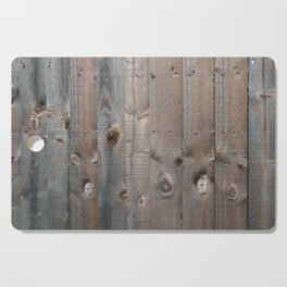Brown Wooden Fence Cutting Board