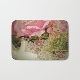 Teacups and Roses 2 Bath Mat