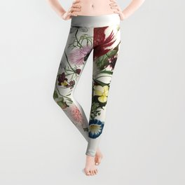 The Earth Laughs in Flowers Leggings