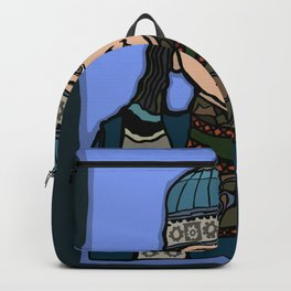 Mongolian Girl Backpack