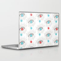 illuminati Laptop & iPad Skins featuring Illuminati eyes! by graceinspace