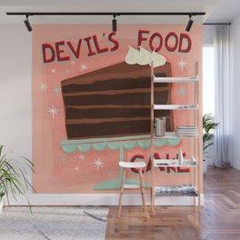 Devil's Food Cake An All American Classic Dessert Wall Mural