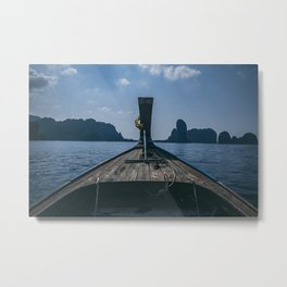 Let's Drift Away Metal Print