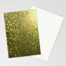 Gold Glitter Sparkle Stationery Cards