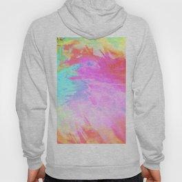 pastel acid splash Hoody