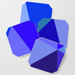 Prismatika Shades of Blue Coaster