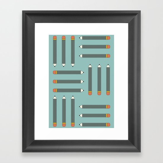 HB Framed Art Print