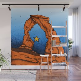 Delicate Arch (Color) Wall Mural