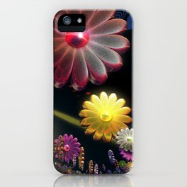 Flower Party iPhone Case