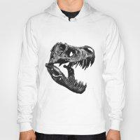 t rex Hoodies featuring T Rex by Sascha Selli