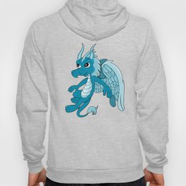 Flying blue dragon  Hoody