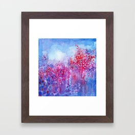 Violet Framed Art Print