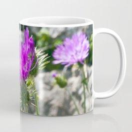 SICILIAN PURPLE THISTLE Coffee Mug