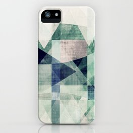 art, wall art, home decor, abstract prints, large prints, abstract print, geometric wall art, modern iPhone Case