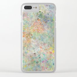 Colors in the Dark Clear iPhone Case