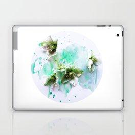 Green moon Laptop & iPad Skin