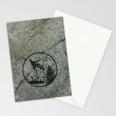rockclimbing Stationery Cards