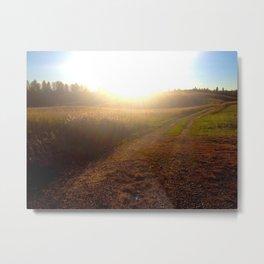 Rolling Prairies Metal Print
