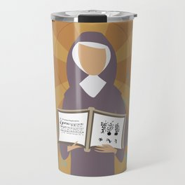 St. Hildegard of Bingen Travel Mug