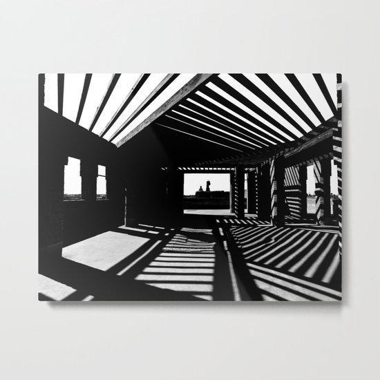 Shadows and Light Metal Print