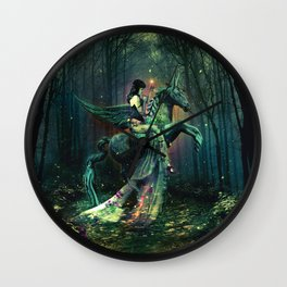 the Each Uisge - Prince of Waterhorses Wall Clock