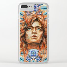 Intelligence, freedom and individuality Clear iPhone Case