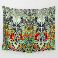 paisley Wall Tapestries featuring Paisley by BellagioVista