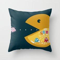 Indoor Games Throw Pillow