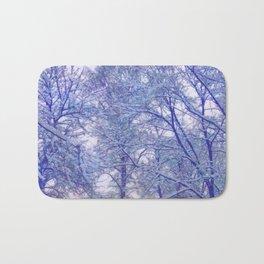 Winter lace Bath Mat