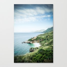 Beach - Landscape and Nature Photography Canvas Print