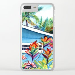 Hanalei Cottage Clear iPhone Case