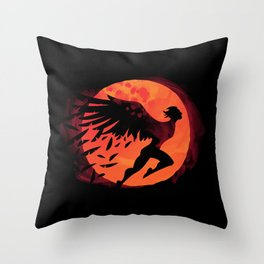 Icarus: Sunset Throw Pillow