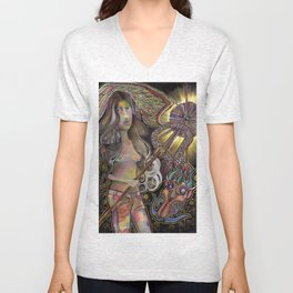 Darlings & Dragons Shield Growth Unisex V-Neck