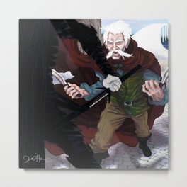 Thom vs the Fade (For Owyn) Metal Print
