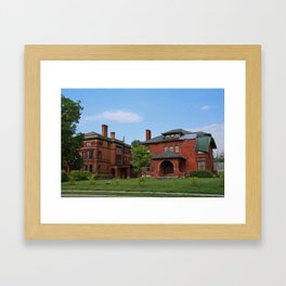 Old West End the Beauty of Blight Framed Art Print