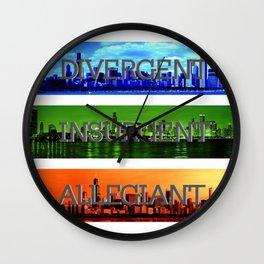 Divergent Wall Clock