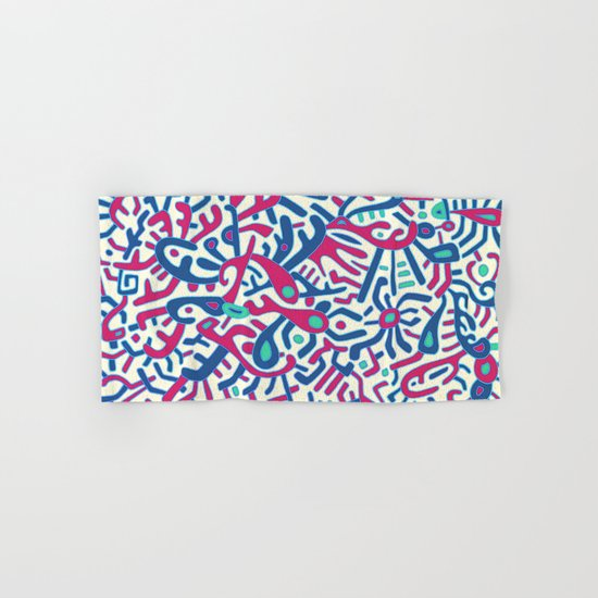- summer sea jungle - Hand & Bath Towel