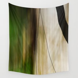 Forest, Water, Lines Wall Tapestry