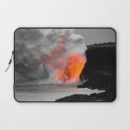 Lava Meets Ocean Laptop Sleeve