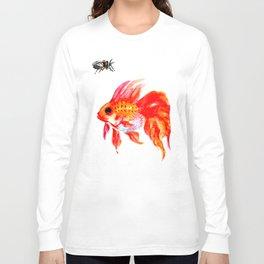 Goldfish and Cicada Long Sleeve T-shirt