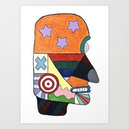 Mímir Art Print