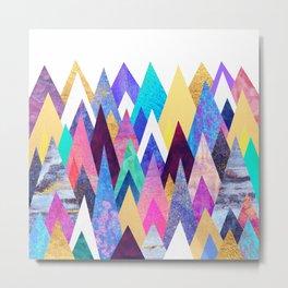 Enchanted Mountains Metal Print
